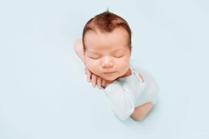 sesja noworodkowa chłopiec