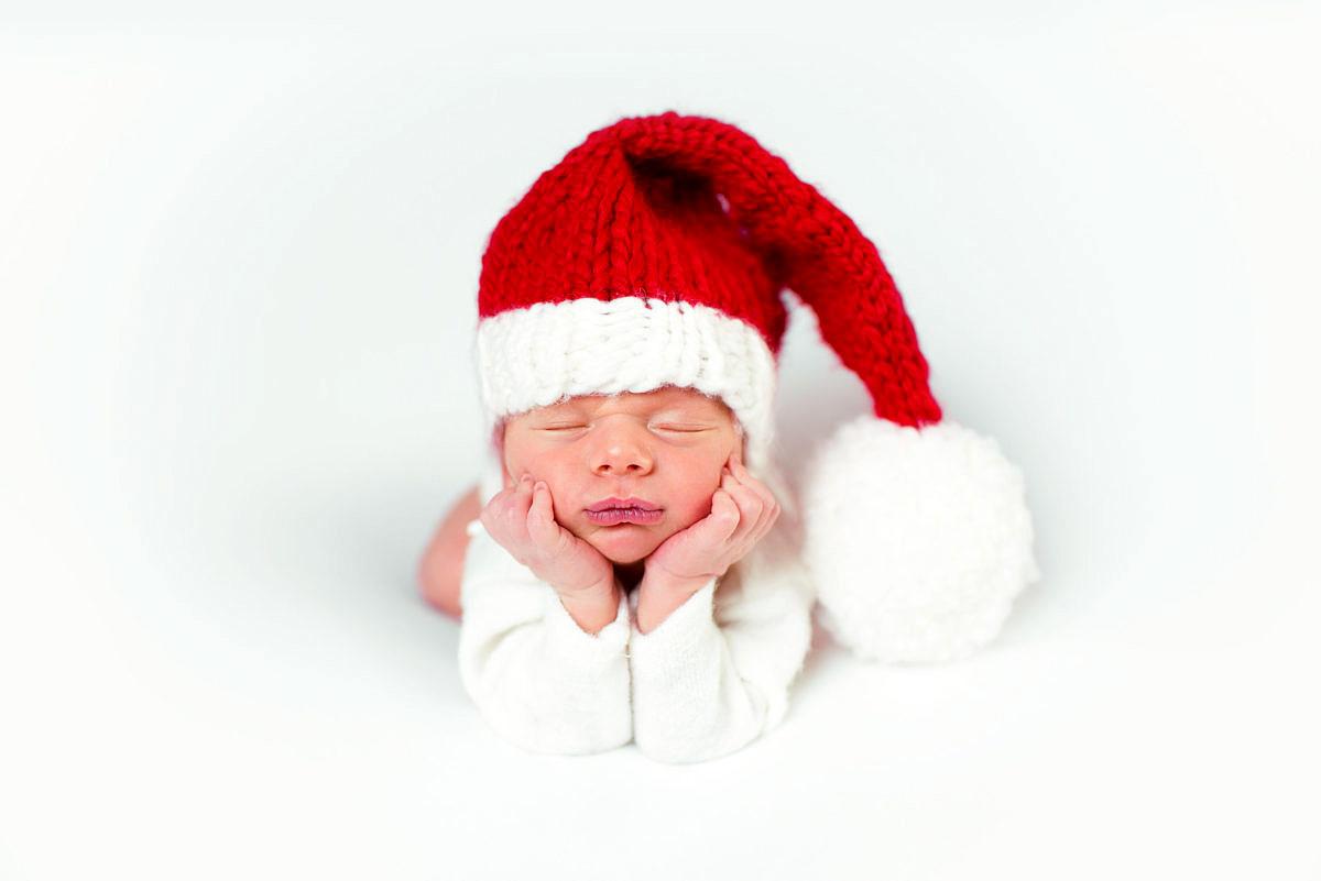 zdjecia noworodkowe świateczne